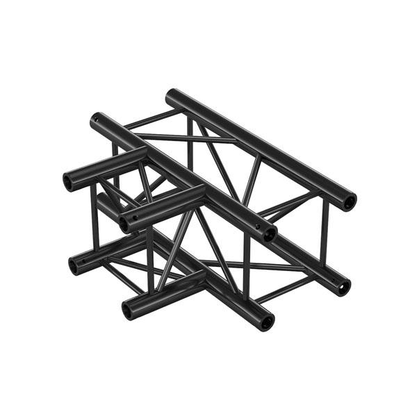 Milos Pro-30 Square G Truss T-Cross 3-way QTVU35 - 90° corner - heavy duty - black