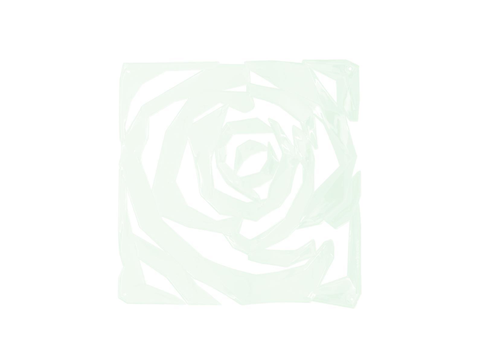 EUROPALMS Raumteiler Rose clear 4x
