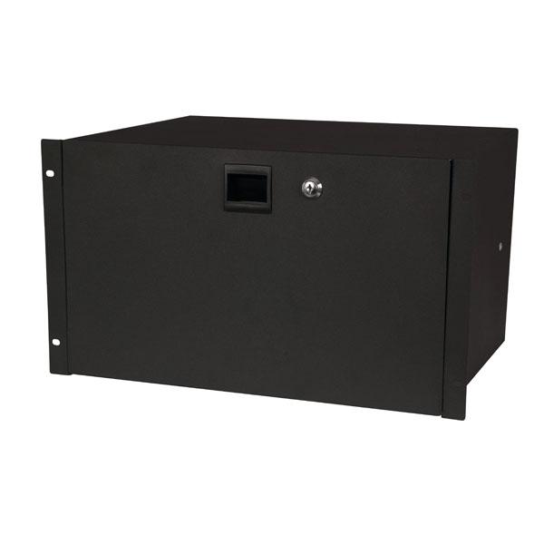Showgear 19 Inch Drawer with keylock 6HE (483 x 350 x 267 mm, LxBxH)/10,5 kg