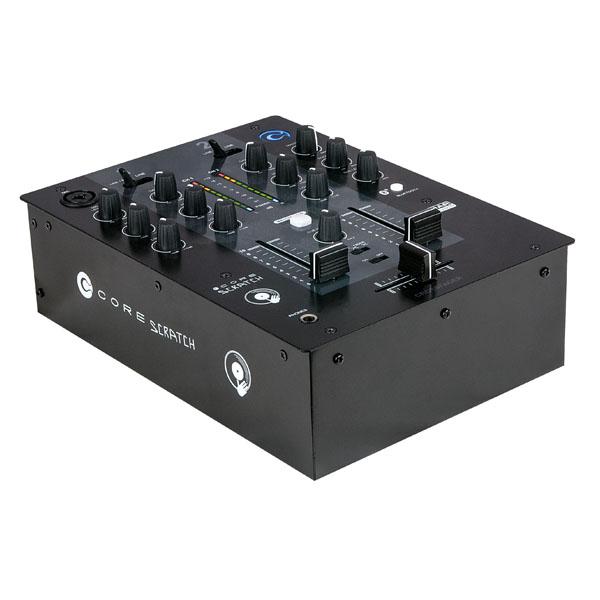 DAP CORE Scratch DJ-Mischpult mit 2 Kanälen