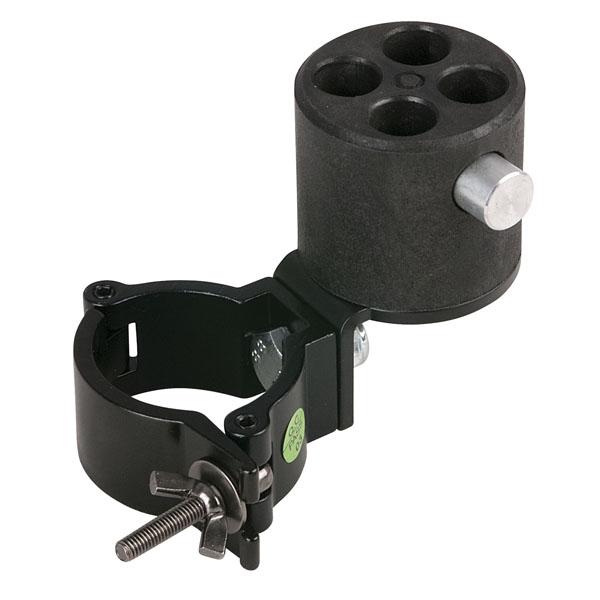 Wentex Angled Bracket with 4-way Connector & 50mm Halbkupplung