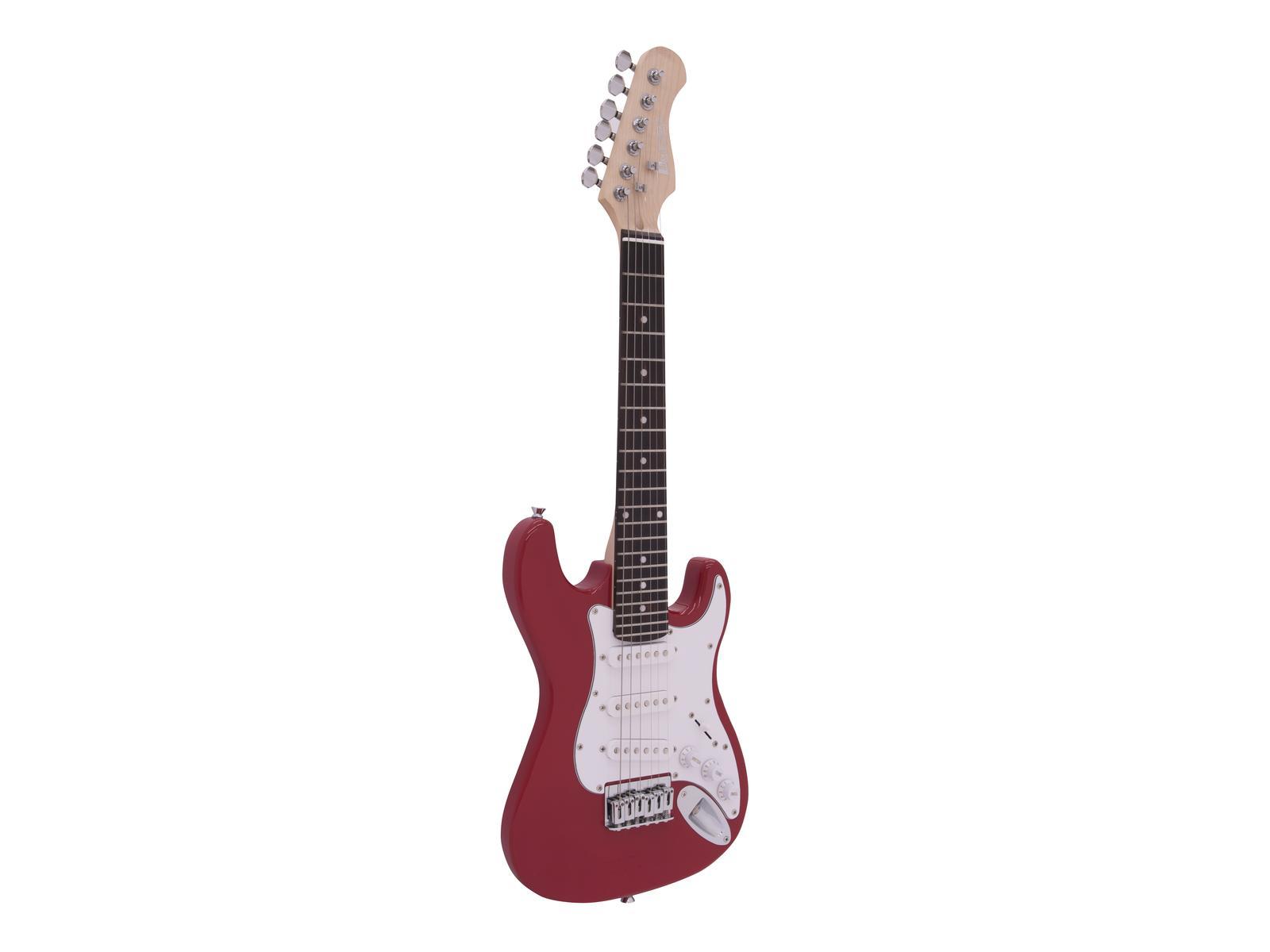 DIMAVERY J-350 E-Gitarre ST rot
