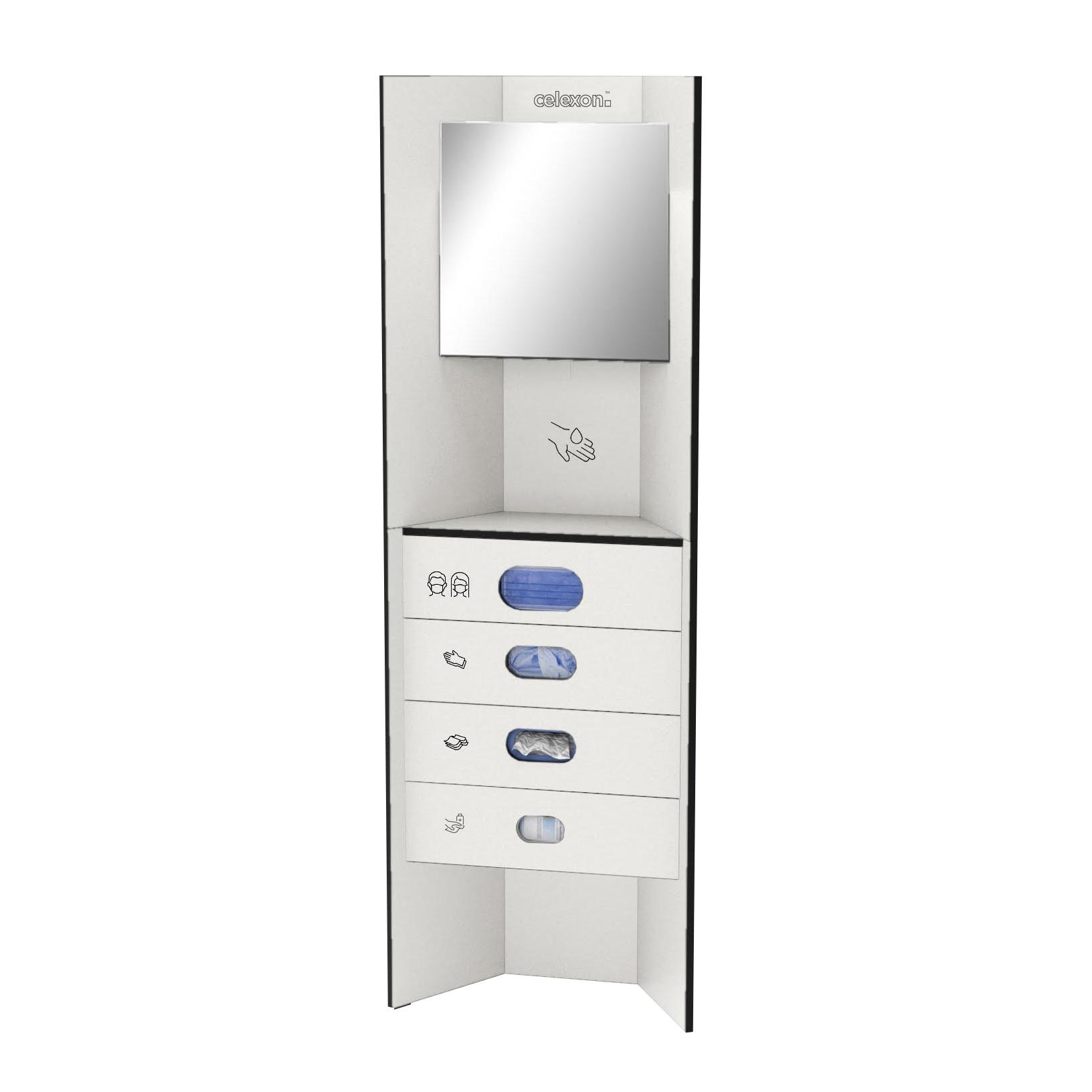 celexon Hygiene Station 180 all-in (inkl. aller Module) - Weiß