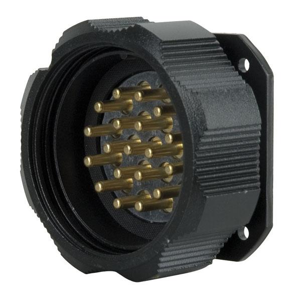 Amphenol Socapex Socapex 19-pin male Chassis Connector