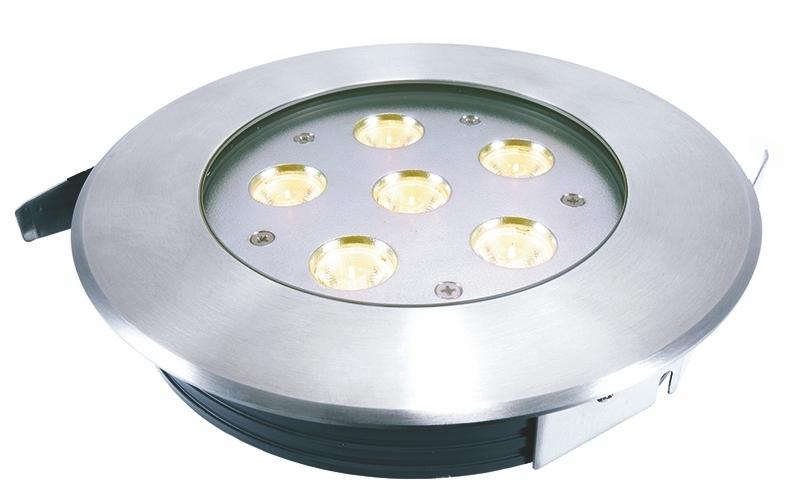 LED Bodeneinbaul. Flat WW 12W IP67