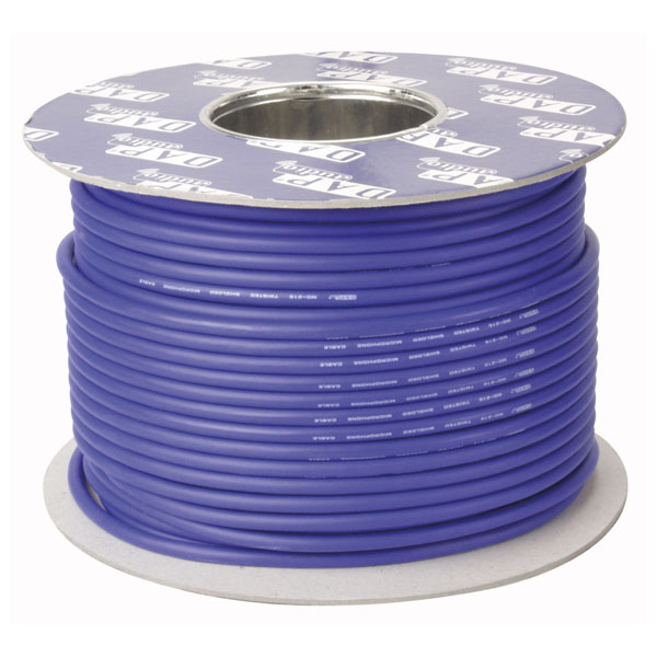 DAP DIG-110 AES-EBU Blaues Digitalkabel (110 Ohm), 100-m-Rolle