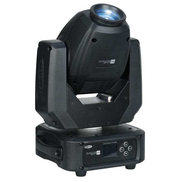 Showtec Phantom 65 Spot Kompakter 65 W LED Spot Moving Head - Schwarz