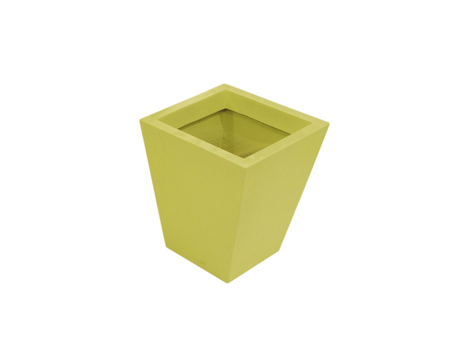 EUROPALMS Fiberglastopf, gelb, 39x45cm