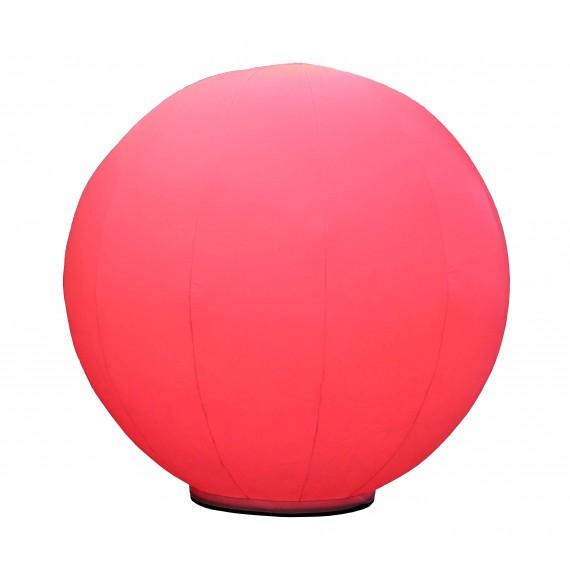 Aufblasbarer Ball 1m weiß für 85cm Base