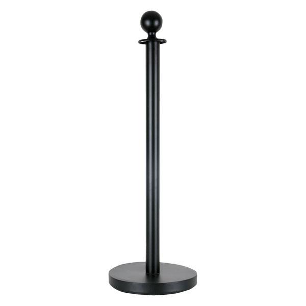 Showgear Round Top Cord Pole Schwarz