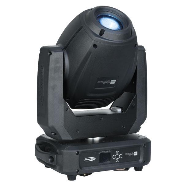 Showtec Phantom 130 Spot 130 W LED Spot Moving Head - Schwarz
