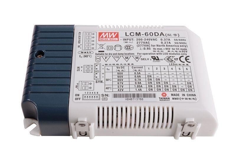 DIM, Multi CC, LCM-60DA Integration in DALI-Netzwerke