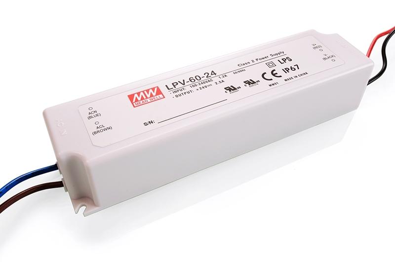 Schaltnetzteil 24V 60W 2,5A IP67
