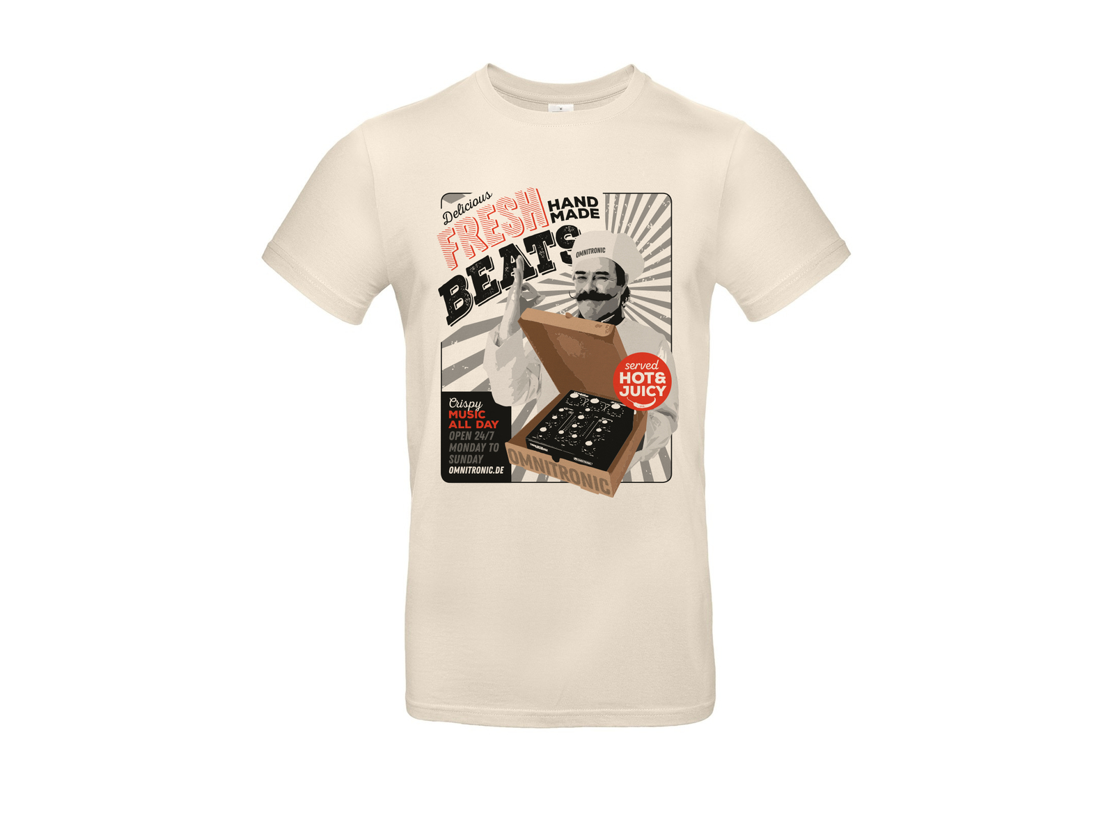 "OMNITRONIC T-Shirt ""Fresh Beats"", XXL"