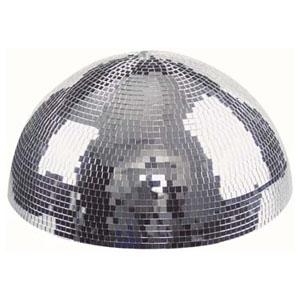 Showgear Half Mirror Ball Halbe Spiegelkugel mit Motor für Deckenmontage, 50 cm
