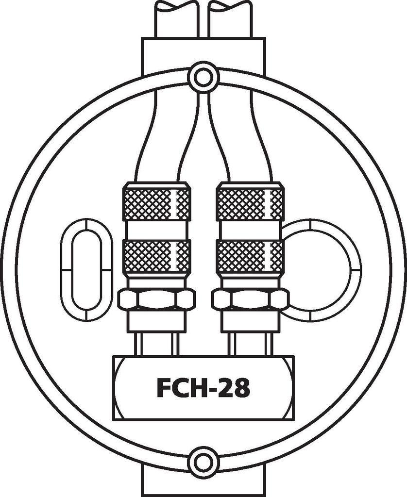 F-Doppelbuchse U-Form