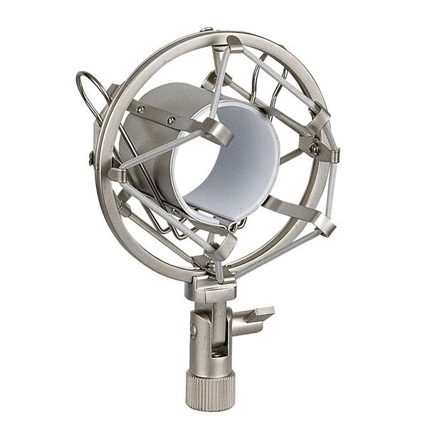 Showgear Microphone Holder 44-48 mm 44-48 mm, grau, Anti-Shock-Halterung