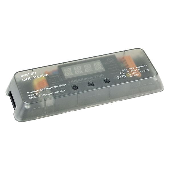 Eldoled LINEARdrive Constant Voltage eldoLED LIN720D DALI/DMX 4 Kanäle 4 Ausgänge. 6A/Ch