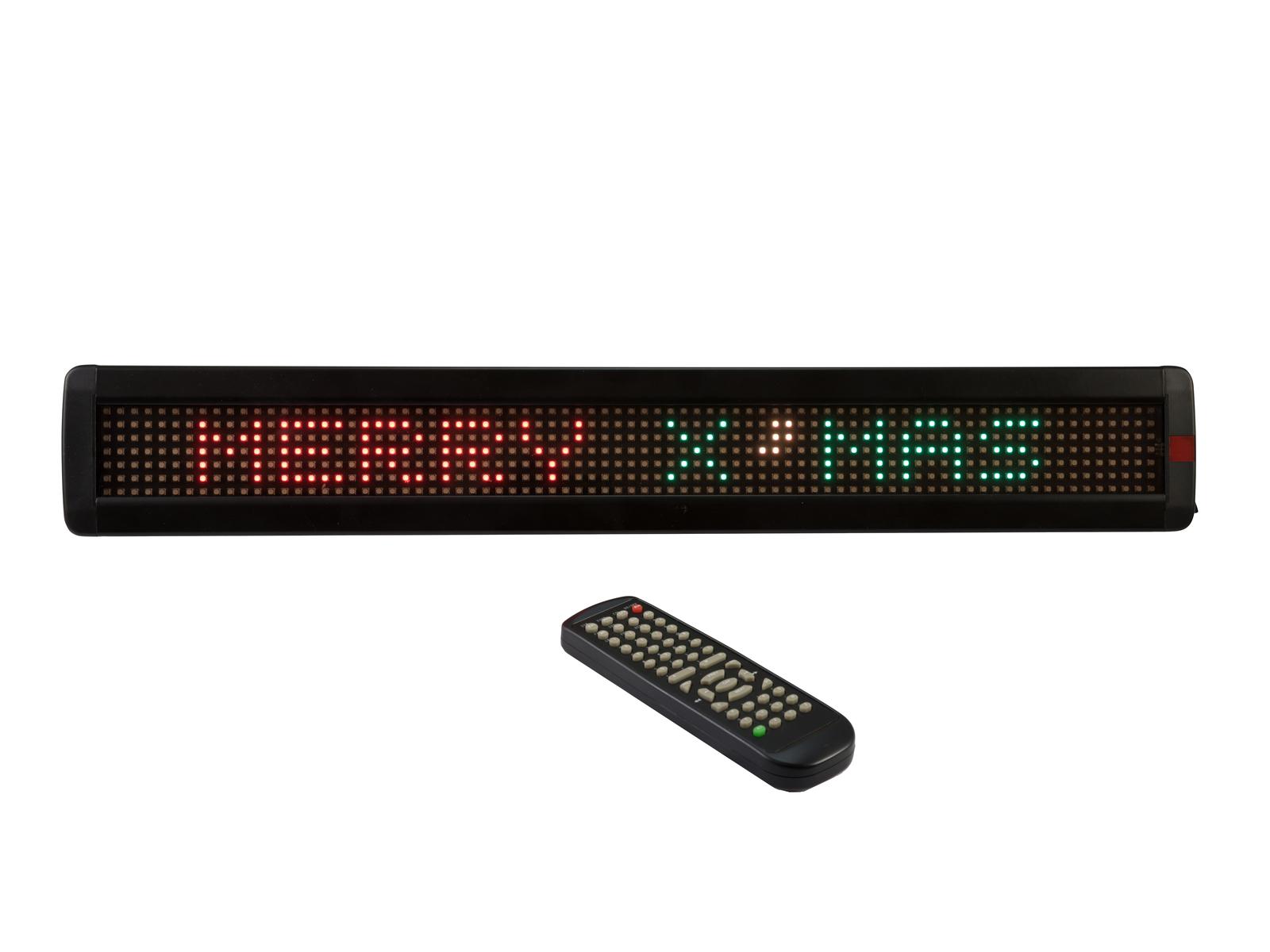 EUROLITE ESN 7x80 USB LAN LED-Laufschrift