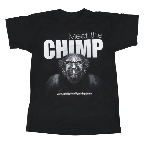 Infinity Chimp T-shirt - Front L