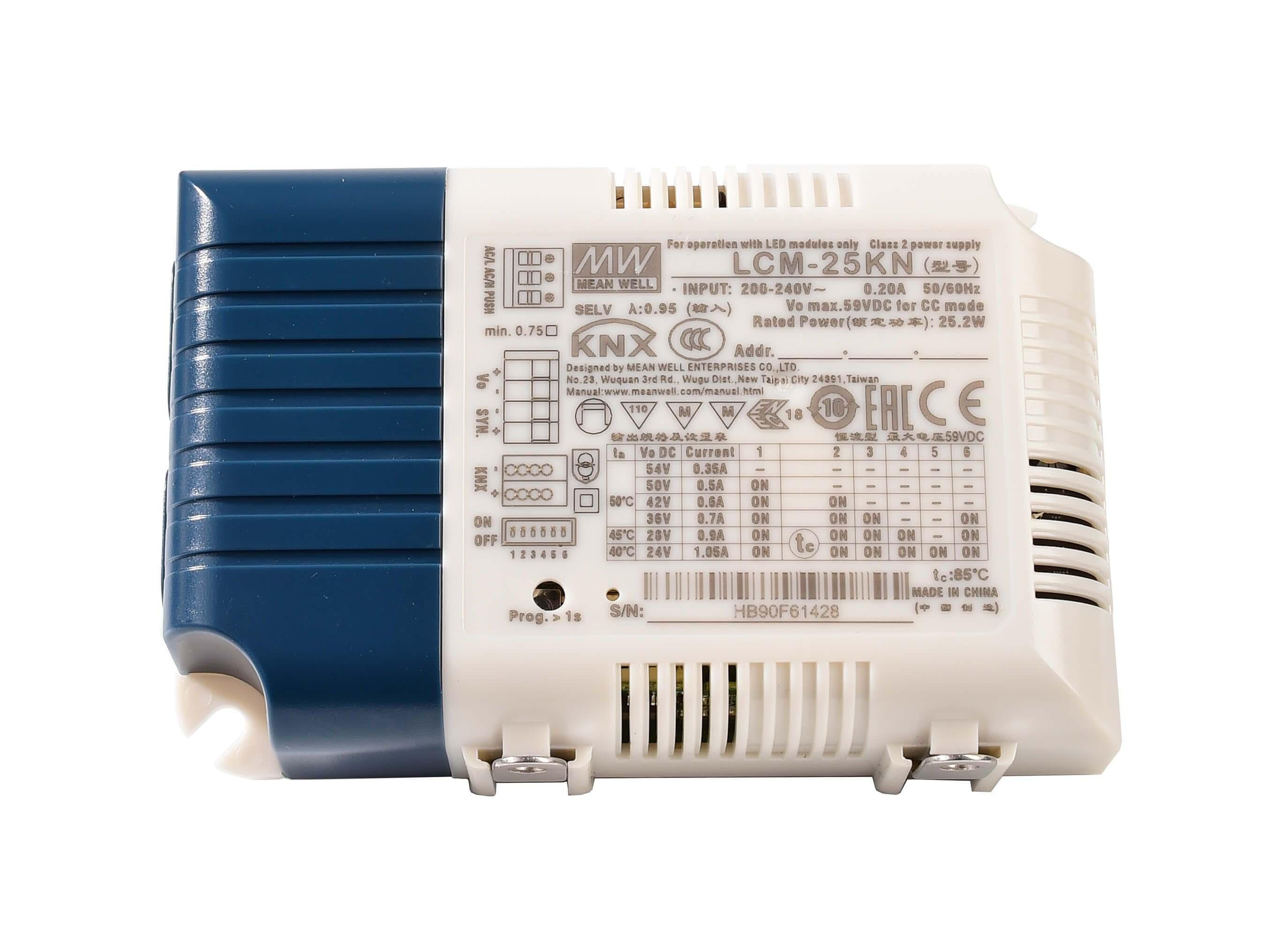 DIM, Multi CC, LCM-25KN - KNX