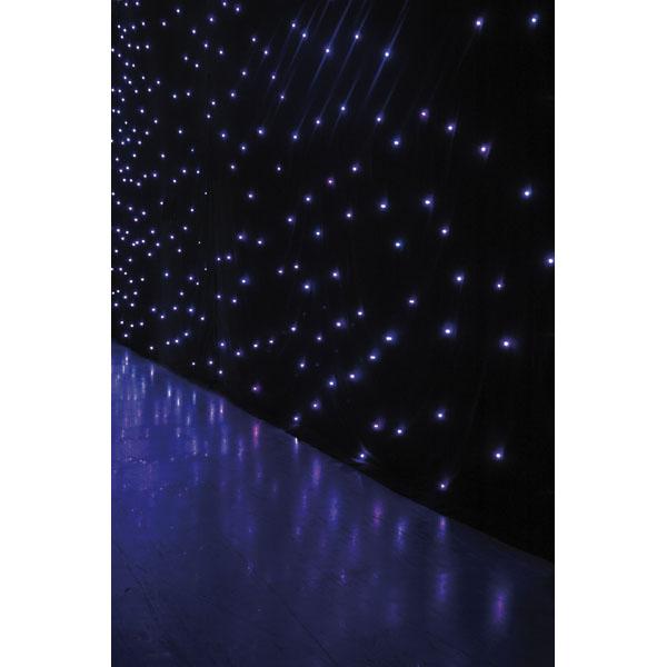 Showtec Star Dream 6 x 4 m - 128 RGB LEDs - Incl. Controller