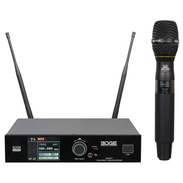 DAP EDGE EHS-1 Drahtloses Handheld-System, Frequenz 606-668 MHz