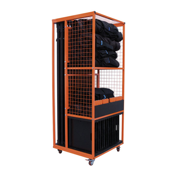 Wentex Pipe and Drape Transport Trolley