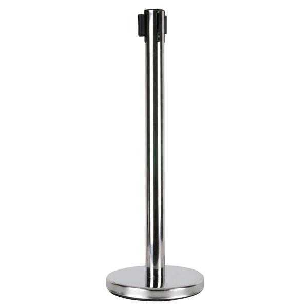 Showgear 2 m Adjustable Crowd Barrier Silber